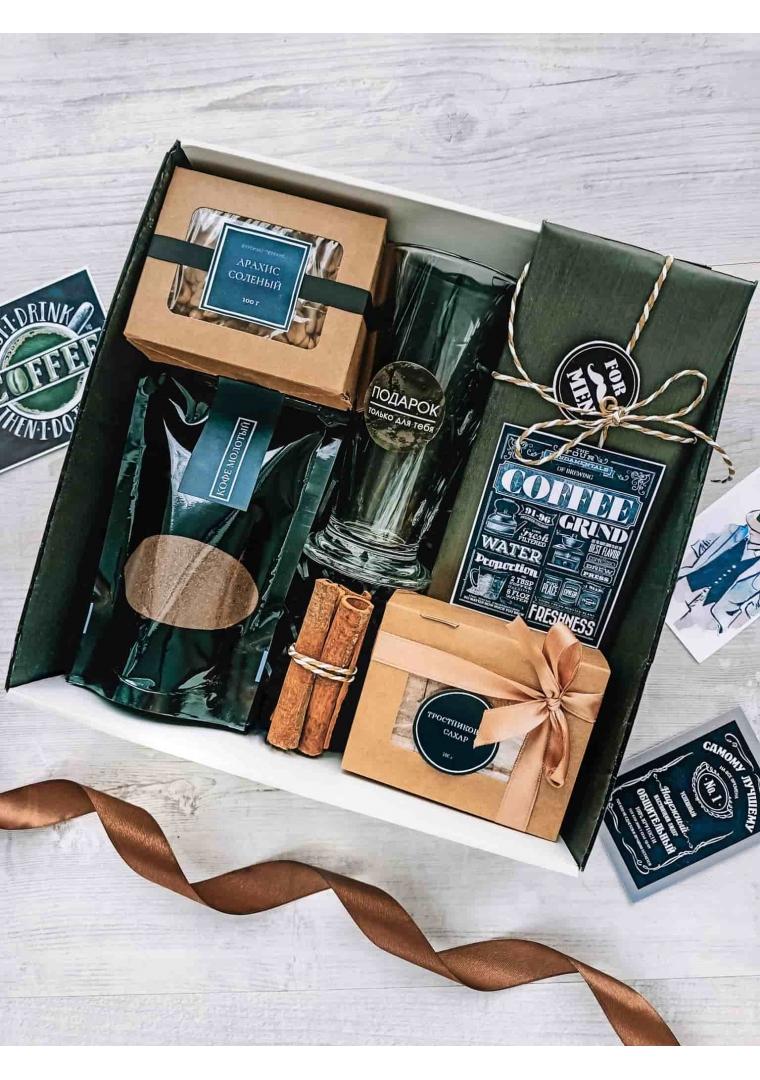 Подарочный набор Кофе для супермена