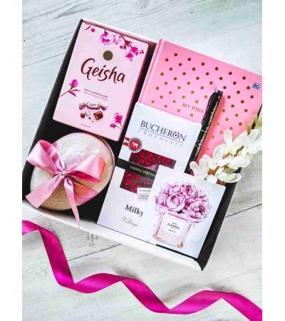 Подарочный набор Розовое утро
