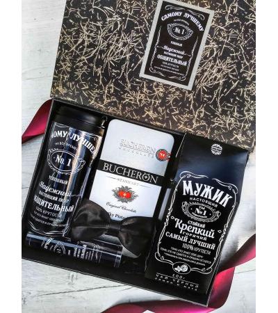 Подарочный набор Only men в подарочной коробке